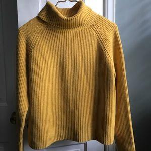Lands End knit Turtleneck Sweater
